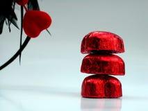 Rode harten Stock Afbeeldingen