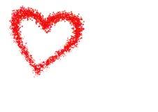Rode harten Stock Foto