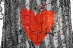 Rode harten Royalty-vrije Stock Afbeeldingen