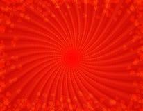 Rode harten retro achtergrond Stock Afbeelding