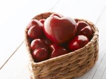 Rode Harten voor de Dag van de Valentijnskaart Royalty-vrije Stock Afbeelding
