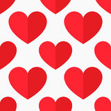 Rode hartenvector Royalty-vrije Stock Afbeelding