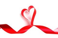 Rode hartlinten Stock Afbeeldingen