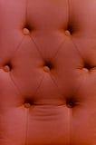 Rode het patroonachtergrond van het stofferingsleer Stock Foto