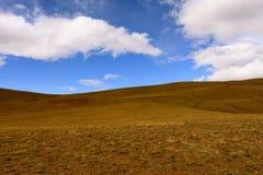 Rode heuvels van Altai Stock Foto's