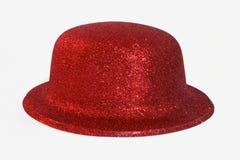 Rode hoed royalty-vrije stock foto
