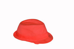 Rode hoed Royalty-vrije Stock Afbeeldingen