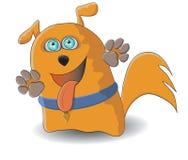 Rode hond vector illustratie