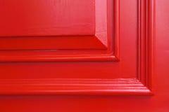 Rode houten muurtextuur Royalty-vrije Stock Foto
