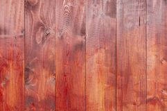 Rode houten textuurachtergrond Stock Foto