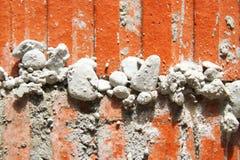 Rode huisbaksteen Stock Fotografie