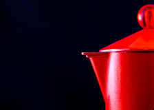 Rode Italiaanse Mocha Stock Afbeelding