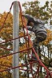 Rode kabels Stock Afbeeldingen