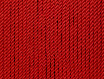 Rode katoenen streng royalty-vrije stock fotografie