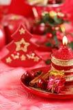 Rode Kerstmis Royalty-vrije Stock Fotografie
