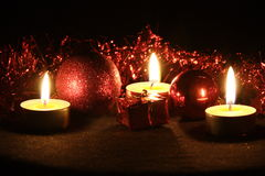 Rode Kerstmis Stock Foto