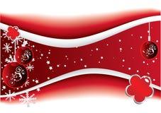 Rode Kerstmis Stock Afbeeldingen