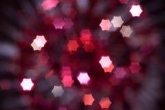 Rode Kerstmis abstracte achtergrond Stock Afbeelding