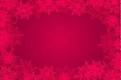 Rode Kerstmis-kaart achtergrond Royalty-vrije Stock Fotografie