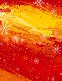 Rode Kerstmisachtergrond,   stock illustratie