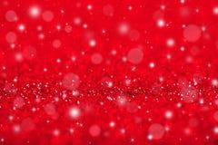 Rode Kerstmisachtergrond Stock Afbeeldingen