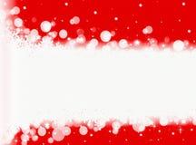 Rode Kerstmisachtergrond De achtergrond van het nieuwjaar Royalty-vrije Stock Foto