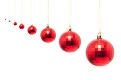 Rode Kerstmissnuisterij Royalty-vrije Stock Foto