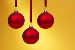 Rode Kerstmissnuisterijen Royalty-vrije Stock Afbeelding