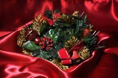Rode Kerstmistijd stock foto