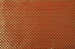 Rode kevlar met witte glasvezel Stock Afbeelding