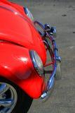 Rode Klassieke Auto Stock Afbeeldingen