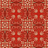 Rode klassieke textuur Royalty-vrije Stock Foto