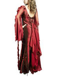 Rode kleding Royalty-vrije Stock Afbeeldingen