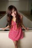 Rode kleding Royalty-vrije Stock Fotografie
