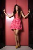Rode kleding Stock Fotografie