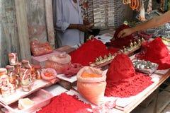 Rode kleur Royalty-vrije Stock Foto's