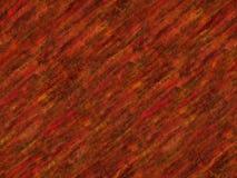 Rode Kleurpotlood/Oliepastelkleur Naadloze Textuur Royalty-vrije Stock Foto