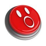 Rode knoop Stock Fotografie