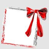 Rode knoop royalty-vrije illustratie