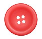 Rode knoop voor geïsoleerdea kleren Stock Fotografie