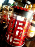Rode Koffieboiler: Chinees Nieuwjaar Stock Foto