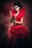 Rode Koningin Stock Fotografie