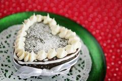 Rode kopcake Royalty-vrije Stock Foto