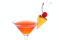 Rode Kosmopolitische cocktail met wodka royalty-vrije stock afbeelding