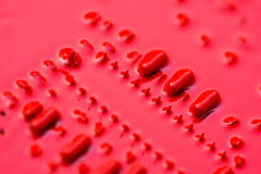 Rode kringsraad Stock Foto's