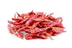 Rode kruidige peper Stock Foto's