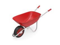 Rode kruiwagen vector illustratie