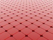 Rode kubussenachtergrond Vector Illustratie