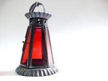 Rode Lamp stock fotografie