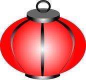 Rode Lampion Stock Illustratie